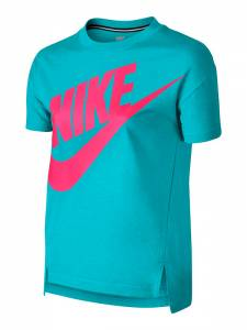 NIKE GIRLS SIGNAL GRAPHIC TOP SHIRT (728414-418)