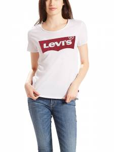LEVI'S THE PERFECT TEE HSMK OUTLINE M (17369-0053)