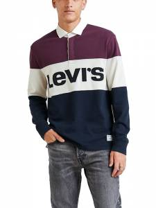 LEVI'S MIGHTY BLOCKED RUGBYPOLO PIECE (56806-0000)