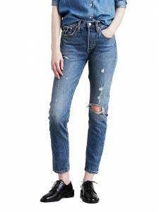 LEVI'S 501 CUSTOMIZED SKINNY LOCKED I (56771-0000)