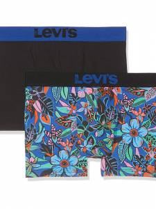 LEVI'S  200SF WIGGLY FLOWER BOXER BRIEF 2P (37149-0102)