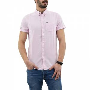 SUPERDRY D2 PREMIUM UNIVERSTY OXFORD S/S SHIRT (M40114AT-F3K)