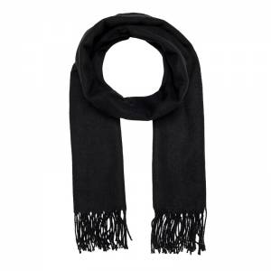 ONLY ANNALI WEAVED SCARF ACC (15150248-BLACK)