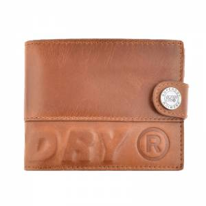 SUPERDRY PROFILE LEATHER WALLET IN A TIN (M9800011A-UG1)